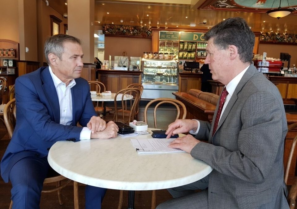 Coffee with the Roger Cook and the KIC