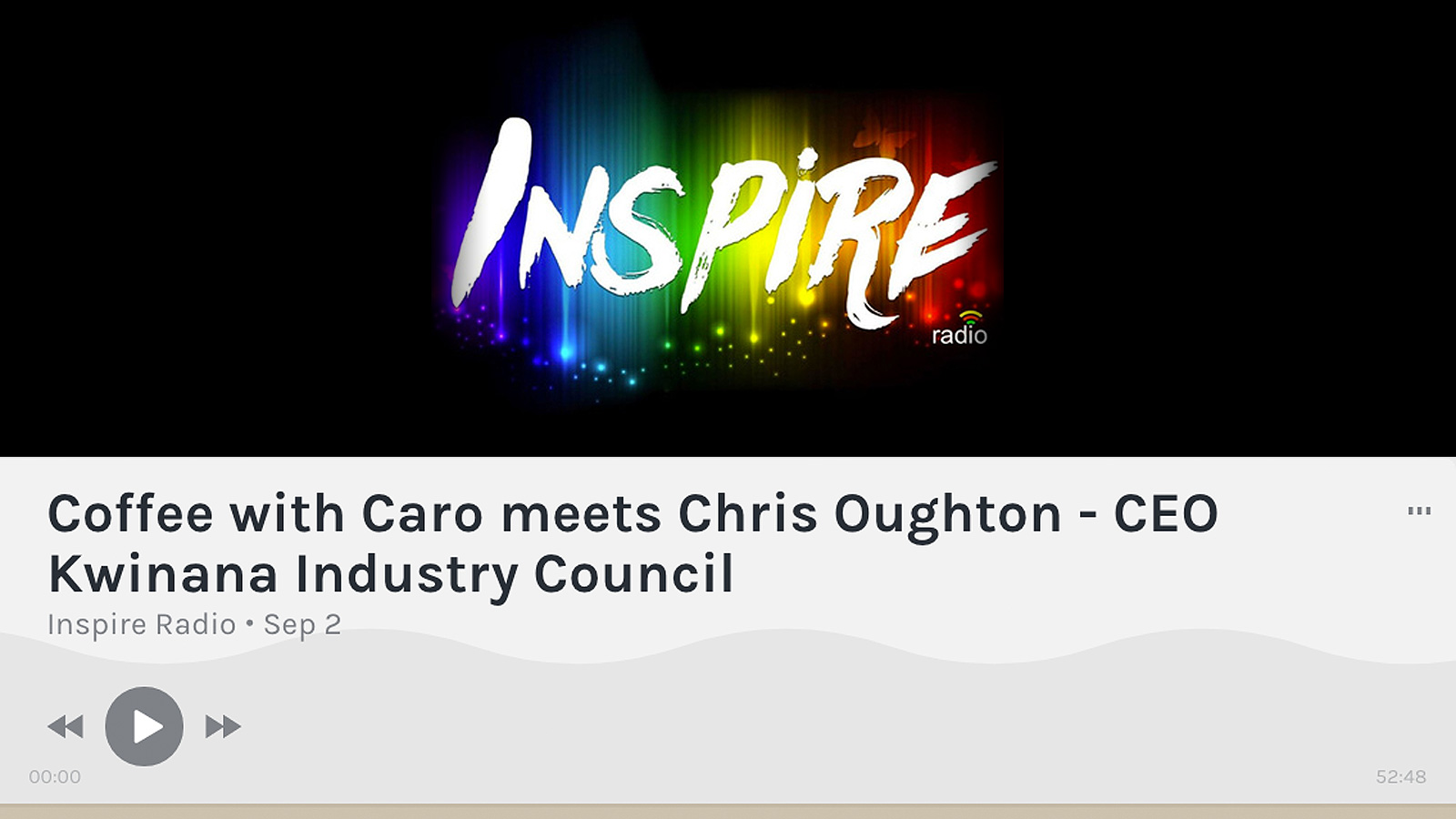 Coffee with Caro meets Chris Oughton - CEO Kwinana Industry Council