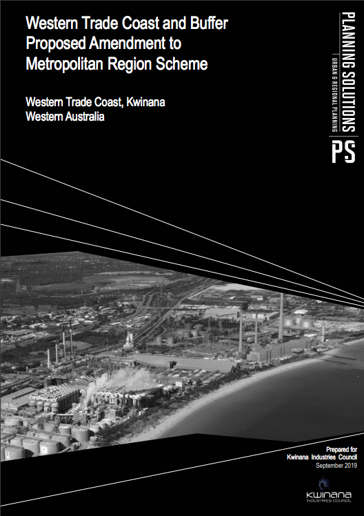 Western Trade Coast and Buffer Proposed Amendment to Metropolitan Region Scheme - 2019 Report